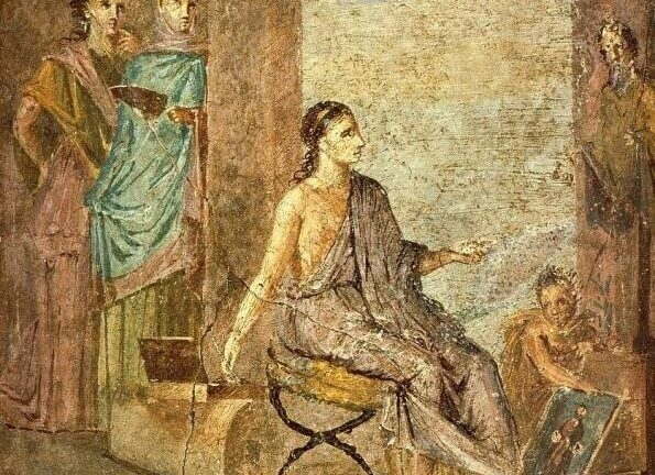 Живопись 2000 лет назад: фаюмские портреты.